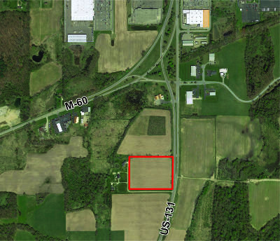Berrien County, Branch County, Calhoun County, Cass County, Hillsdale County, Jackson County, Kalamazoo County, Van Buren County, St. Joseph County Residential Lots & Land For Sale: Us 131 Highway #11.5