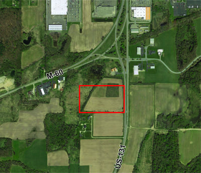 Berrien County, Branch County, Calhoun County, Cass County, Hillsdale County, Jackson County, Kalamazoo County, Van Buren County, St. Joseph County Residential Lots & Land For Sale: Us-131 Highway #18.91