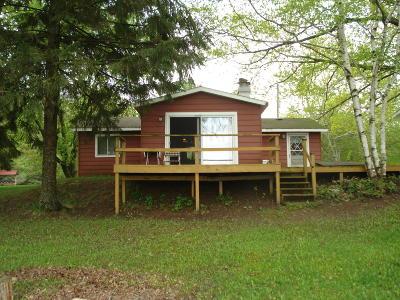 Evart Single Family Home For Sale: 11151 Pogy Lake Drive