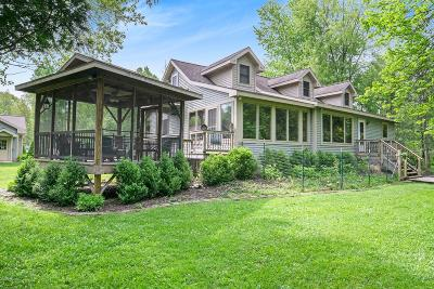 Benzie County, Charlevoix County, Clare County, Emmet County, Grand Traverse County, Kalkaska County, Lake County, Leelanau County, Manistee County, Mason County, Missaukee County, Osceola County, Roscommon County, Wexford County Single Family Home For Sale: 9707 N Kings Point