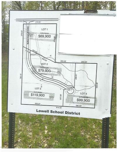Lowell Residential Lots & Land For Sale: 12540 5 Mile Road NE #Lot 4