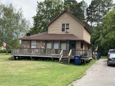 Benzie County, Charlevoix County, Clare County, Emmet County, Grand Traverse County, Kalkaska County, Lake County, Leelanau County, Manistee County, Mason County, Missaukee County, Osceola County, Roscommon County, Wexford County Multi Family Home For Sale: 120 E Elm Street