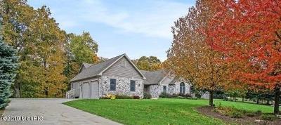 Ludington Single Family Home For Sale: 5450 W Riverside Lane #(Lot 27)