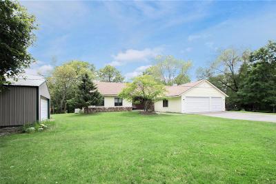 Grand Rapids Single Family Home For Sale: 7714 Thornapple Bayou Drive SE