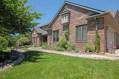 Clinton County, Gratiot County, Isabella County, Kent County, Mecosta County, Montcalm County, Muskegon County, Newaygo County, Oceana County, Ottawa County, Ionia County, Ingham County, Eaton County, Barry County, Allegan County Single Family Home For Sale: 1317 W 120th Street
