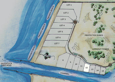 Saugatuck, Douglas Residential Lots & Land For Sale: Lot 12 Saugatuck Beach Road