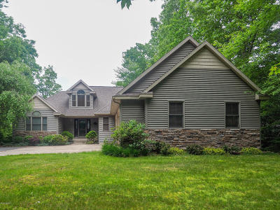 Allegan Single Family Home For Sale: 3817 Forest Trail