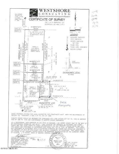 Muskegon Residential Lots & Land For Sale: 2424 Marquette Avenue