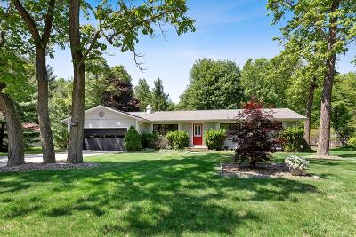 Benton Harbor, Bridgman, Harbert, New Buffalo, Sawyer, St. Joseph, Stevensville, Union Pier, Paw Paw Single Family Home For Sale: 13892 Lakewood Drive