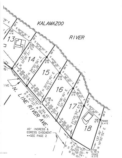 Allegan County Residential Lots & Land For Sale: 0 - 15/16 Riverbend Trail