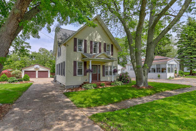 Holland, West Olive, Zeeland Single Family Home For Sale: 5993 Church Street