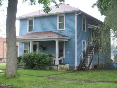Berrien County, Branch County, Calhoun County, Cass County, Hillsdale County, Jackson County, Kalamazoo County, St. Joseph County, Van Buren County Single Family Home For Sale: 500 E Hatch Street