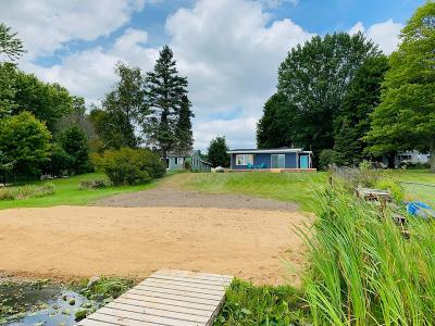 Clinton County, Gratiot County, Isabella County, Kent County, Mecosta County, Montcalm County, Muskegon County, Newaygo County, Oceana County, Ottawa County, Ionia County, Ingham County, Eaton County, Barry County, Allegan County Single Family Home For Sale: 4955 Indianhead Drive