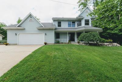 Kalamazoo Single Family Home For Sale: 1823 Sandy Cove Drive