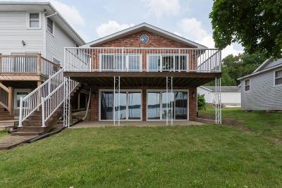 Kalamazoo Single Family Home For Sale: 1393 E Crooked Lake Drive