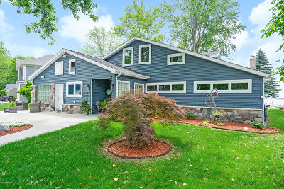 Middleville Single Family Home For Sale: 11299 Oakleigh Drive