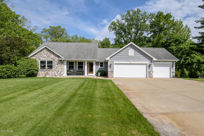 Kalamazoo Single Family Home For Sale: 2560 Springbrook Drive