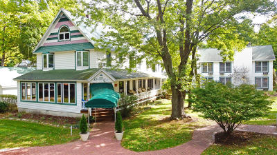 Saugatuck, Douglas Single Family Home For Sale: 83 Lakeshore Drive