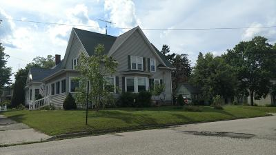 Big Rapids Single Family Home For Sale: 521 Linden Street