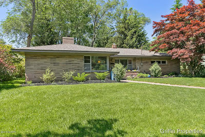 East Grand Rapids Single Family Home For Sale: 2884 Lake Drive SE