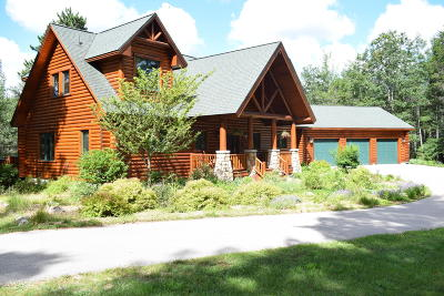 Benzie County, Charlevoix County, Clare County, Emmet County, Grand Traverse County, Kalkaska County, Lake County, Leelanau County, Manistee County, Mason County, Missaukee County, Osceola County, Roscommon County, Wexford County Single Family Home For Sale: 8787 Wheeler Pines