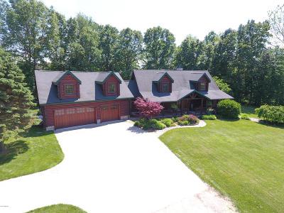 Berrien County, Branch County, Calhoun County, Cass County, Hillsdale County, Jackson County, Kalamazoo County, St. Joseph County, Van Buren County Single Family Home For Sale: 40285 M40 Highway