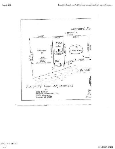 Coopersville Residential Lots & Land For Sale: Lot D Leonard Road