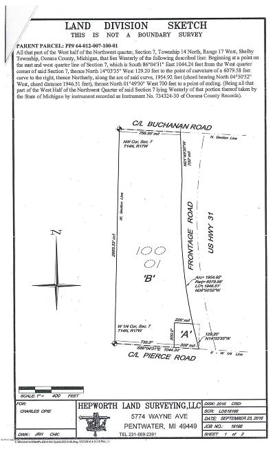 Shelby Residential Lots & Land For Sale: 4648 W Pierce Road