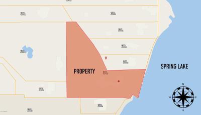 Grand Haven, Spring Lake, Ferrysburg Residential Lots & Land For Sale: 17840 W Spring Lake Road