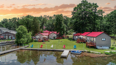 Chippewa Lake, Evart, Rodney Single Family Home For Sale: 19947 Chippewa Drive