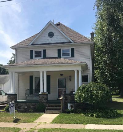 Coldwater Single Family Home For Sale: 291 N Hudson Street