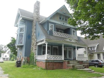 Benton Harbor Single Family Home For Sale: 600 Territorial Road