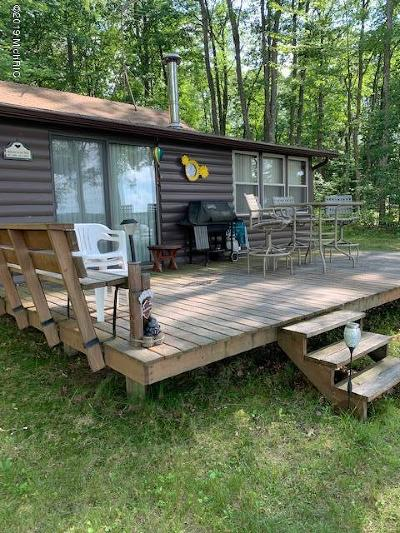 Benzie County, Charlevoix County, Clare County, Emmet County, Grand Traverse County, Kalkaska County, Lake County, Leelanau County, Manistee County, Mason County, Missaukee County, Osceola County, Roscommon County, Wexford County Single Family Home For Sale: 1702 Wolf Lake Drive
