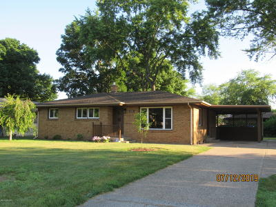 Benton Harbor Single Family Home For Sale: 521 Eloise Drive