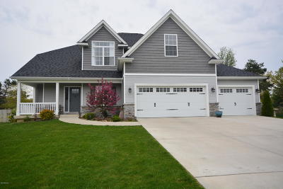 Kalamazoo Single Family Home For Sale: 7722 Drake Ridge