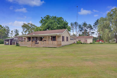 Mecosta County Single Family Home For Sale: 18964 N Eisenhower Road