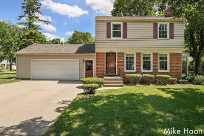 Grand Rapids Single Family Home For Sale: 162 Pershing Drive NE