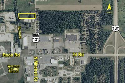 Benzie County, Charlevoix County, Clare County, Emmet County, Grand Traverse County, Kalkaska County, Lake County, Leelanau County, Manistee County, Mason County, Missaukee County, Osceola County, Roscommon County, Wexford County Residential Lots & Land For Sale: 3578 S Mackinaw Trail