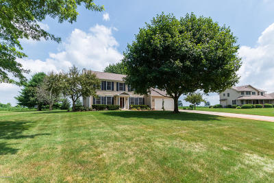 Schoolcraft Single Family Home For Sale: 16201 Prairie Ronde Road