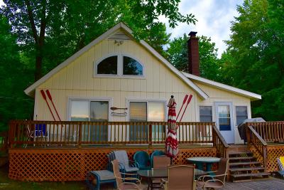 Benzie County, Charlevoix County, Clare County, Emmet County, Grand Traverse County, Kalkaska County, Lake County, Leelanau County, Manistee County, Mason County, Missaukee County, Osceola County, Roscommon County, Wexford County Single Family Home For Sale: 4954 N Ford Lake Road