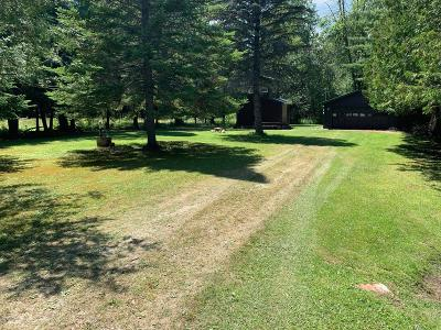 Benzie County, Charlevoix County, Clare County, Emmet County, Grand Traverse County, Kalkaska County, Lake County, Leelanau County, Manistee County, Mason County, Missaukee County, Osceola County, Roscommon County, Wexford County Residential Lots & Land For Sale: 5043 Sandy Run Road