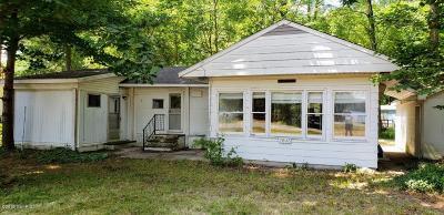 Newaygo Single Family Home For Sale: 7603 S Croton Hardy Drive