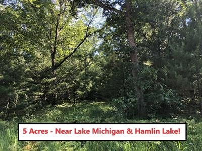 Benzie County, Charlevoix County, Clare County, Emmet County, Grand Traverse County, Kalkaska County, Lake County, Leelanau County, Manistee County, Mason County, Missaukee County, Osceola County, Roscommon County, Wexford County Residential Lots & Land For Sale: 5 Acres, Decker Rd.