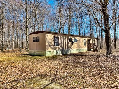 Barryton MI Single Family Home For Sale: $44,900