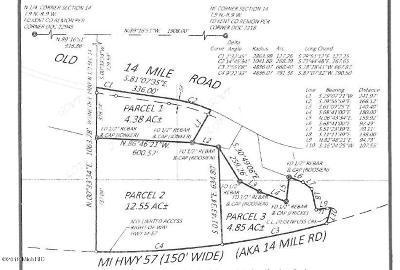 Greenville Residential Lots & Land For Sale: 13340 Old 14 Mile Parcel 3 Road NE