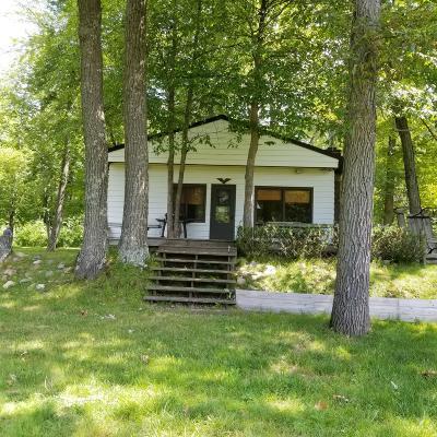 Evart Single Family Home For Sale: 8929 Linden Drive