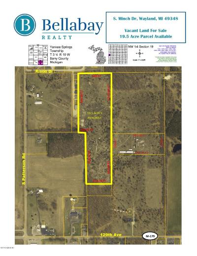 Wayland Residential Lots & Land For Sale: Minch Drive
