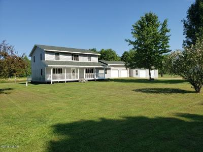 Branch County Single Family Home Active Contingent: 1010 Ralston Road