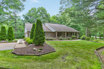 Grand Haven, Spring Lake Single Family Home For Sale: 18786 Greenwood Court