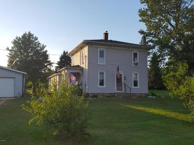 Branch County Single Family Home For Sale: 576 Lindley Rd Road